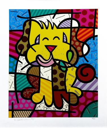 Screenprint Britto - BEST FRIEND