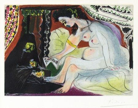 Aquatint Picasso - Bethsabee