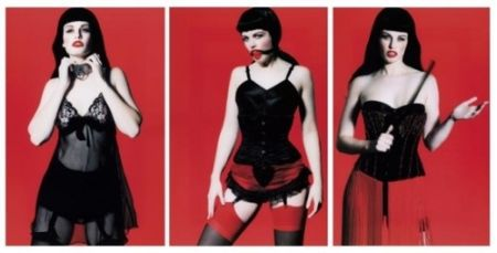 Photography Lagrange - Betty Page Trilogy (triptych)