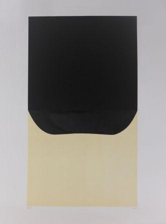 Lithograph Burri - Bianchi e Neri II-D
