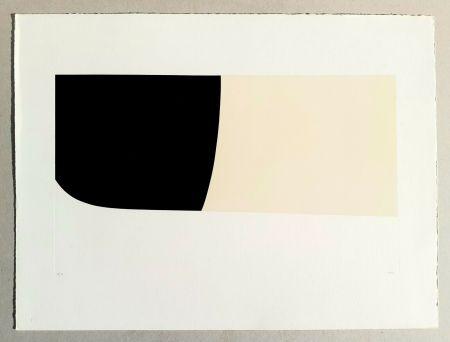 Lithograph Burri - Bianchi e neri II