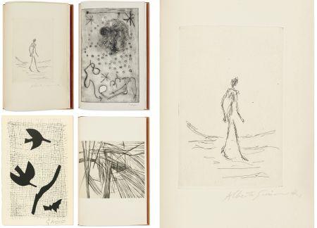 Illustrated Book Giacometti - Bibliographie des œuvres de René Char (PAB 1964) Gravures signées de Giacometti, Miro, Braque, Da Silva.