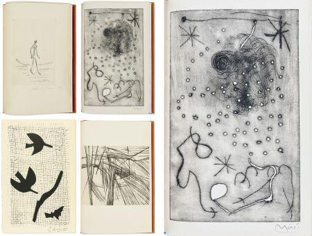 Illustrated Book Miró - Bibliographie des œuvres de René Char (PAB 1964) Gravures signées de Giacometti, Miro, Braque, Da Silva, etc.