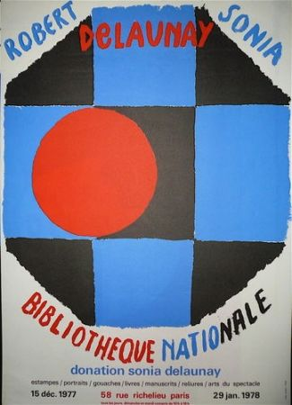 Poster Delaunay - Biblitothèque nationale