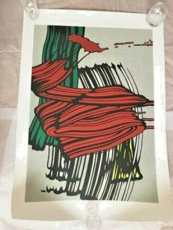 Screenprint Lichtenstein - BIG PAINTING NO 6