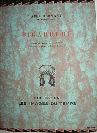 Illustrated Book Icart - Bigarrure