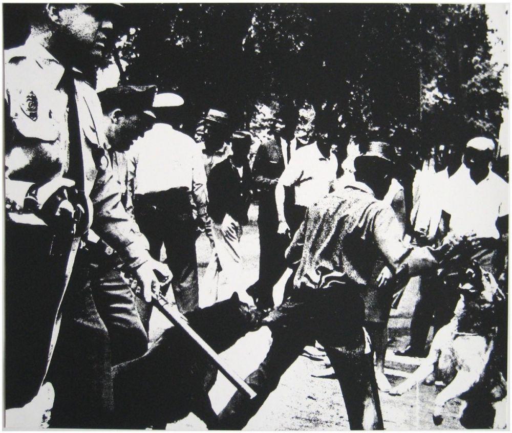 Screenprint Warhol - Birmingham Race Riot (FS II.3)