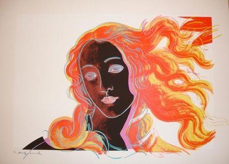Screenprint Warhol - Birth of Venus