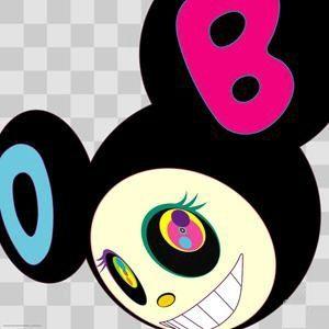 Numeric Print Murakami - Black dob