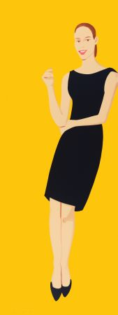 Screenprint Katz - Black Dress - Ulla