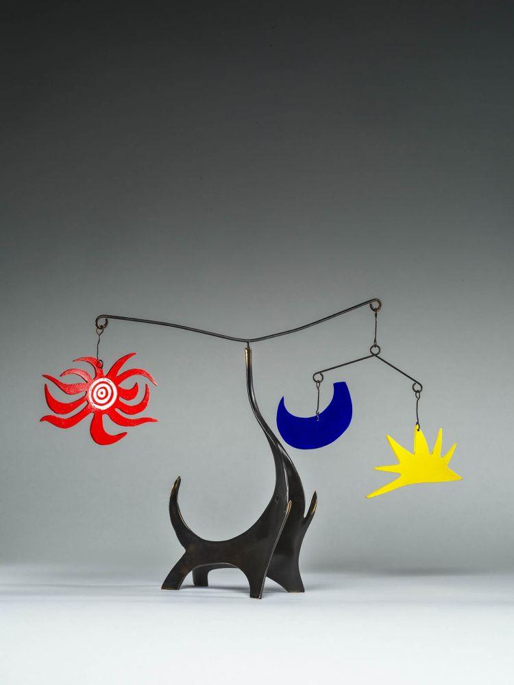 Multiple Calder - Black Elephant