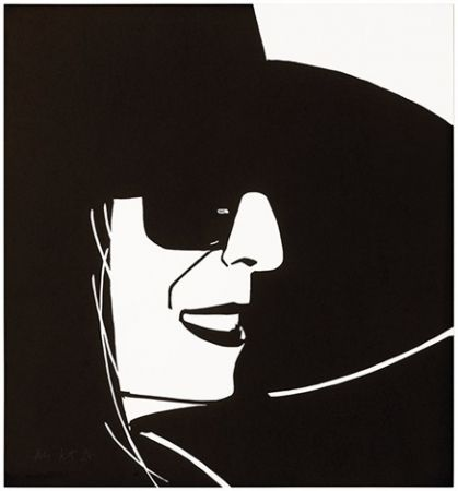 Woodcut Katz - Black Hat (Ada)