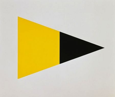 Lithograph Kelly - Black Yellow