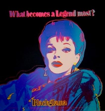 Screenprint Warhol - Blackglama (From ADS Portfolio)
