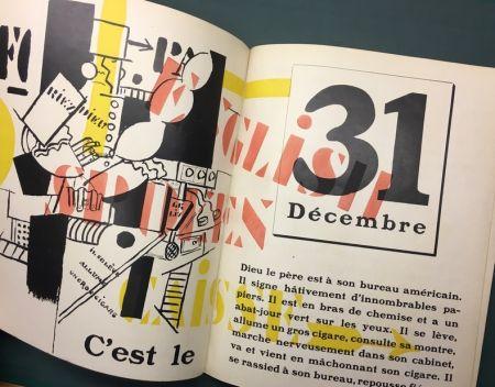 Illustrated Book Leger - Blaise Cendrars : La Fin Du Monde Filmée Par L'Ange N.-D. Roman. Compositions en Couleurs par Fernand Léger.