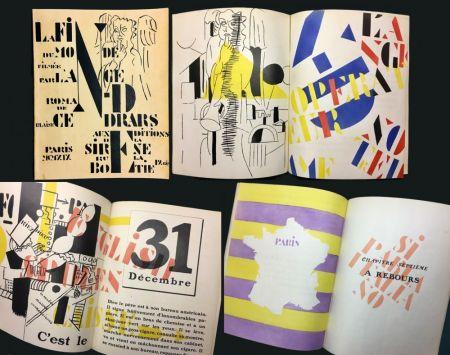 Illustrated Book Leger - Blaise Cendrars : La Fin Du Monde Filmée Par L'Ange N.-D. Roman. Pochoirs par Fernand Léger (1919)..