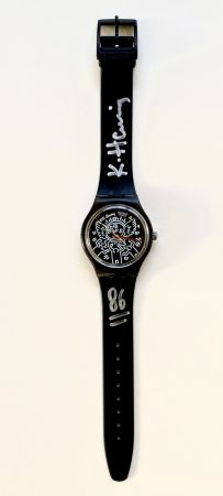 No Technical Haring - Blanc sur Noir (GZ104), watch