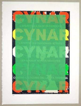 Screenprint Rotella - Blank Cynar (verde)