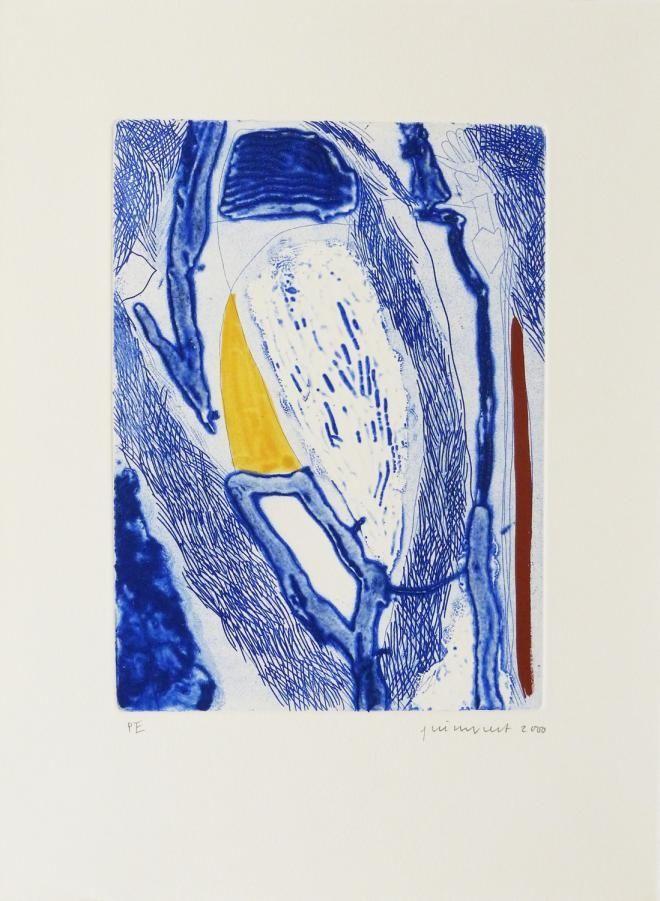 Engraving Guinovart - Blau 21