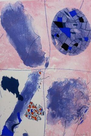 Lithograph Guinovart - Blaus