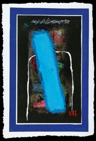 Carborundum Coignard - Bleu vertical