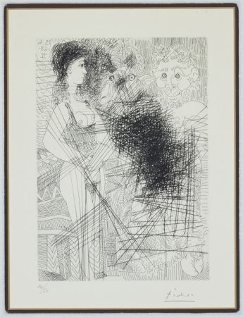 Etching Picasso - Bloch 1662 (347 Series)