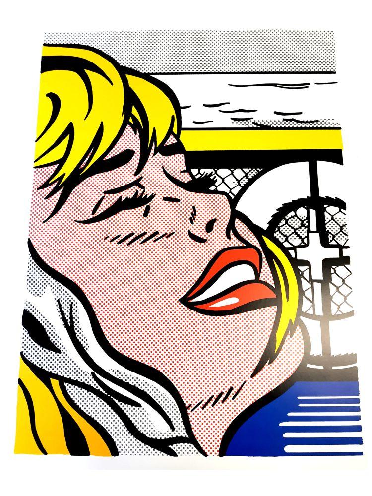 Lithograph Lichtenstein - Blonde