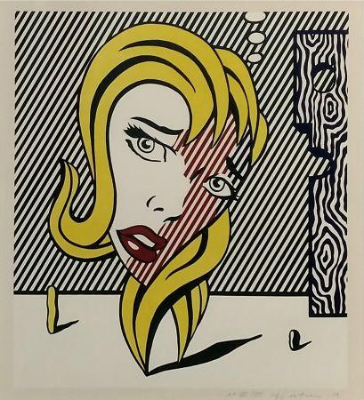 Lithograph Lichtenstein - BLONDE (SURREALIST SERIES)