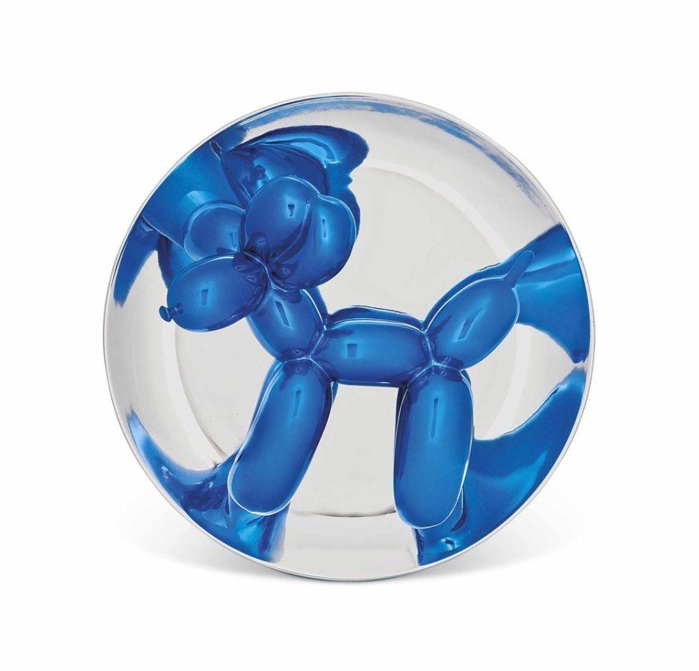 No Technical Koons - Blue Balloon Dog