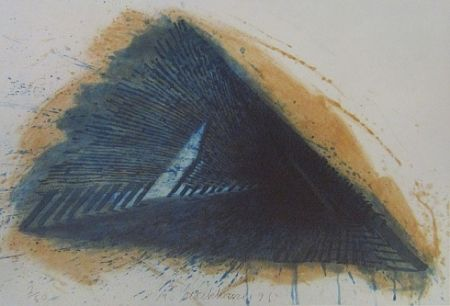 Lithograph Stackhouse - Blue Encounterings