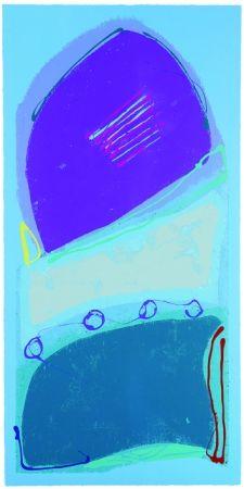 Screenprint Frost - Blue Rondo