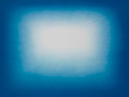 Etching And Aquatint Kapoor - Blue shadow 3