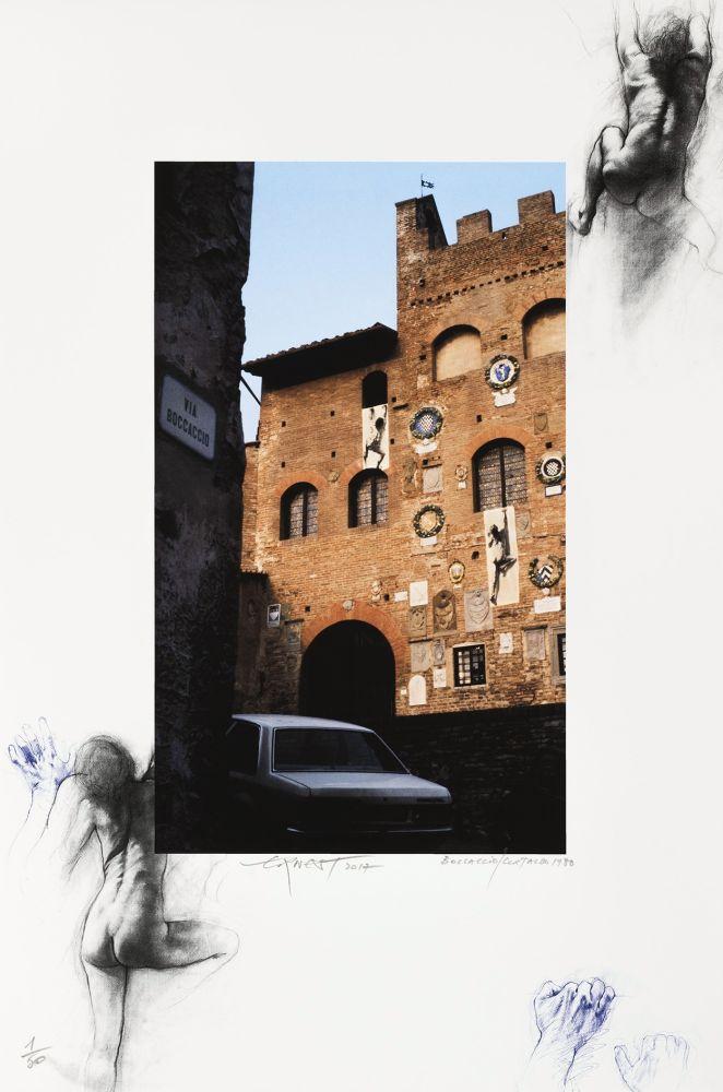 Numeric Print Pignon-Ernest - Boccaccio/Certaldo