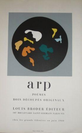 Woodcut Arp - Bois découpés originaux