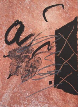 Engraving Tàpies - BOIS DES CERFS (Libro)