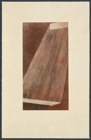 Lithograph Ruscha - Bolt 111