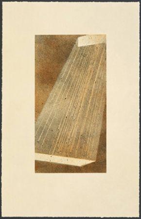 Lithograph Ruscha - Bolt IV