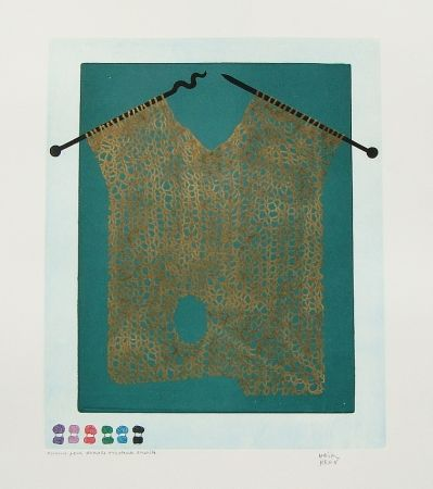Etching And Aquatint Kern - Bonjour Max Ernst