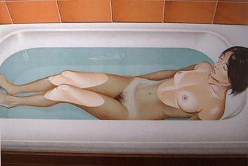 Lithograph Ramos - Bonnard's Bath