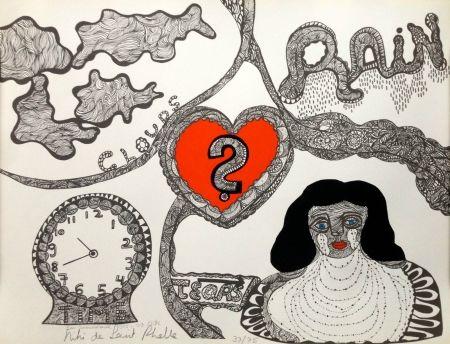 Lithograph De Saint Phalle - Bonne anniversaire