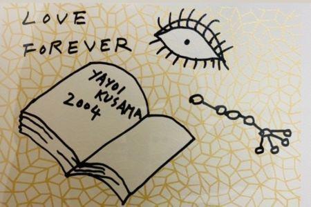 Screenprint Kusama - Book to Read at Night A