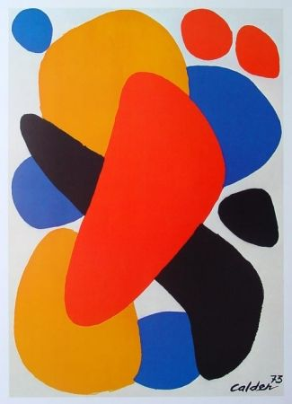 Poster Calder - Boomerang tel aviv