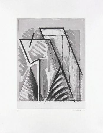 Etching Titus Carmel - Boréale