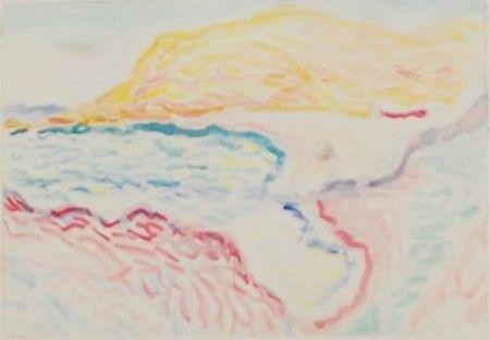 Collograph Matisse - Bord de la mer, Collioure