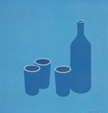 Screenprint Caulfield - Bottle and Cups