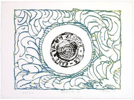 Lithograph Alechinsky - Bouche d'eau III