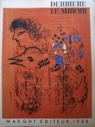 Lithograph Chagall - Bouquet à l'oiseau
