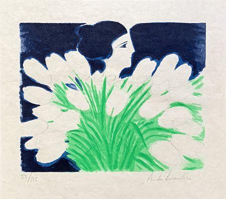 Lithograph Brasilier - Bouquet de Printemps