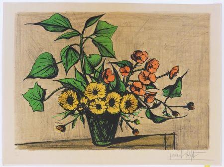 Lithograph Buffet - Bouquet de soucis