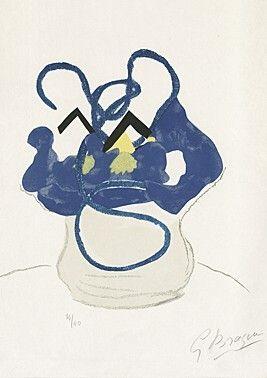 Woodcut Braque -